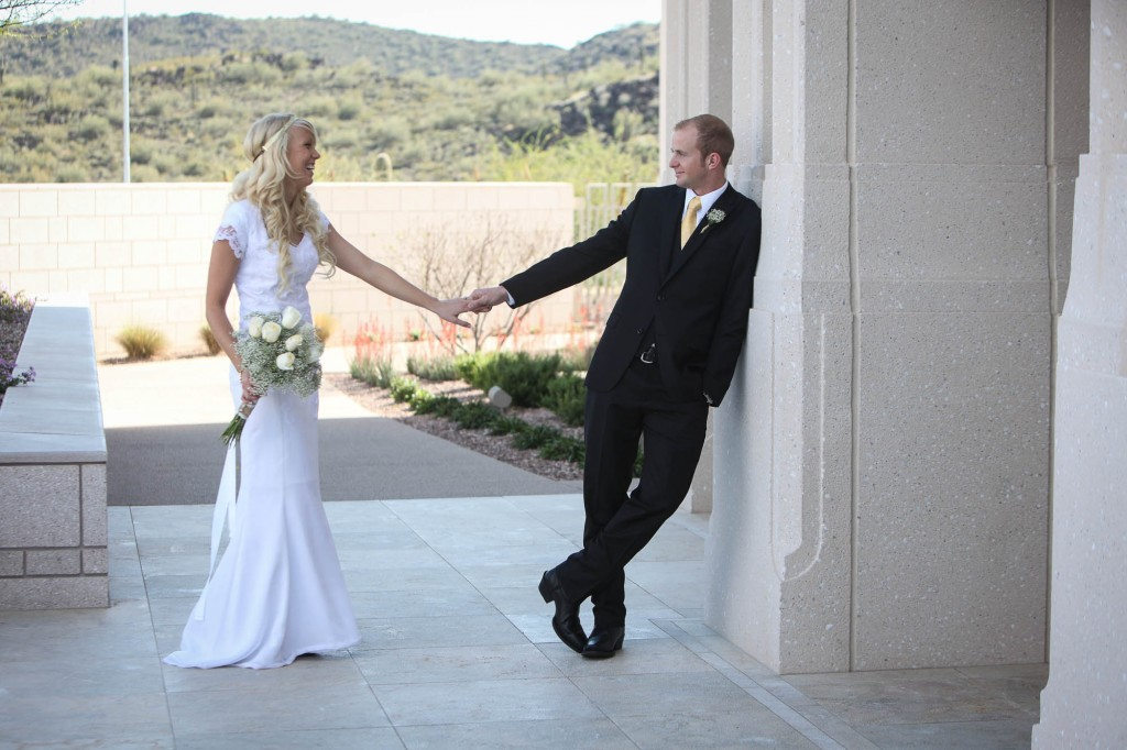 LDS Phoenix Temple Wedding Photos