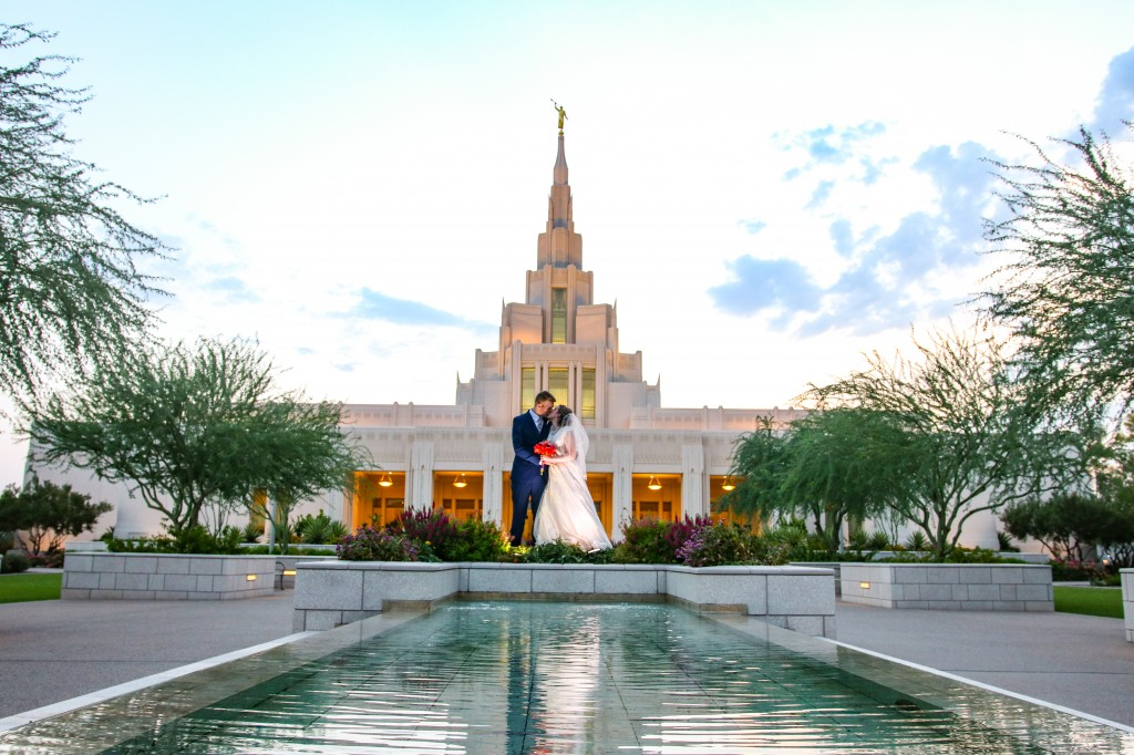 Phoenix Temple Wedding Photography